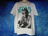Uniqlo STAR WARS Greedo T-Shirt - Bounty hunter from A New Hope - White, Size XL