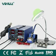 ES-YIHUA 853D 2A USB SMD Auto/Manual function with LAMP,BRACKET PLATE 220V NEW