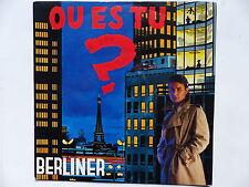 BERLINER Ou es tu ?   Dove sei ? 721880 WE 171