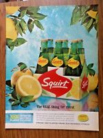 1964 Squirt Soda Ad  The Real Thing for Thirst   6 Pak of Squirt Pop