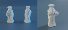 Lost In Space Jupiter 2 Robot 3 Figure Set 1/35 No Power Standard Defense Pose