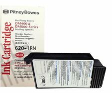 Original OEM Pitney Bowes DM400 DM500 DM500c RED Franking Ink Cartridge 620-1RN
