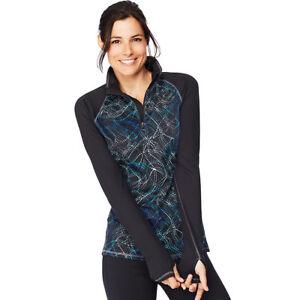 Hanes Sport™ Women's Performance Fleece Quarter Zip Sweatshirts O9325