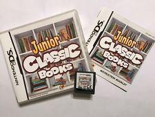 Nintendo DS NDS DSL DSi XL Spiel Junior Classics Bücher + Box instuction komplett