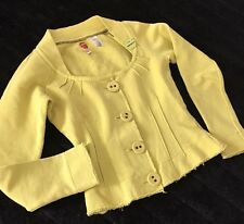 Miss Sixty Crop Cotton Cardigan Sweater Size XS