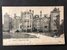 Vintage Real Photo Postcard #TP1187: Royal Jubilee Convalescent Home 1906