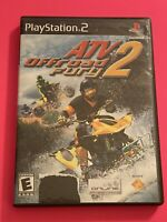🔥 SONY PS2 PlayStation Two 💯 COMPLETE WORKING GAME 🔥ATV OFF-ROAD FURY 2 🔥