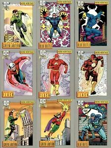 DC Comics 1991 Series 1 COMPLETE BASE CARD SET #1-180 Trading Cards