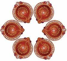 Handmade Teracotta Diya Oil Lamp for Diwali (Pack of 12) Puja Diya for Diwali