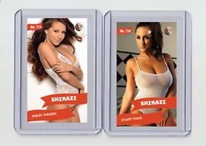 Shelby Chesnes rare MH Shirazi #'d 3/3 Tobacco card no. 711