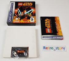 Nintendo Game Boy Advance GBA LEGO Star Wars : The Video Game PAL