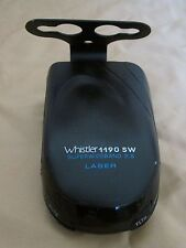 WHISTLER SUPERWIDEBAND 2.6 LASER RADAR DETECTOR MODEL 1190 SW WORKS GREAT!!