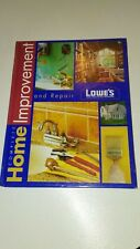 Complete Home Improvement And Repair, Lowes ,Hardcover