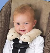 Summer Infant Cushy Straps - Carseat/Stroller Strap Covers, Color: Beige