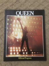 Queen 1980 The Game U.S. Tour Concert Program Book / Freddie Mercury