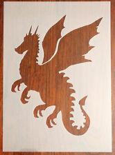 Dragon Stencil Riutilizzabile Mylar Foglio per Arts & Crafts, fai da te