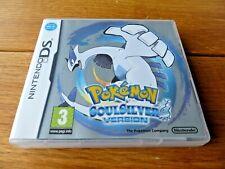 Pokemon SOULSILVER NINTENDO DS en Caja Inmaculada con inserciones de todos los puntos + Club