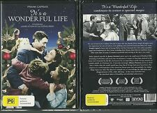 IT'S A WONDERFUL LIFE JAMES STEWART DONNA REED LIONEL BARRYMORE GREAT NEW DVD