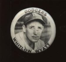 1940's PM 10 Stadium Pin Whitlow Wyatt Brooklyn Dodgers