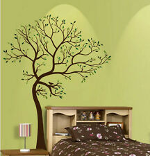 Wall Stickers Giant Tree bird branch Trunk Art Removable Vinyl Decal Decor Mural