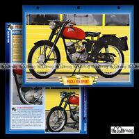 #142.02 Fiche Moto FOCHJ FOX SPORT 100 (NSU) 1953-1957 Classic Motorcycle Card