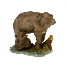 Home Interiors~Asian Elephant~Endangered Species~New