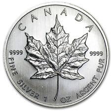 2008 Canada 1 oz Silver Maple Leaf BU - SKU #28946