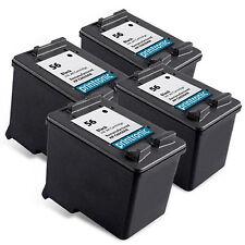 4PK HP 56 Ink Cartridge C6656AN Black for DeskJet 9670 9680 Color Copier 410
