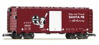 PIKO G SCALE SF CHICO STEEL-TYPE BOXCAR 6803 | BN | 38872