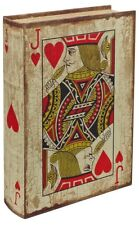 JACK OF HEARTS STORAGE BOX THAT LOOKS LIKE A BOOK! A GREAT GIFT!