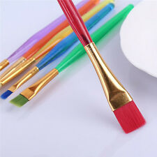 6pcs/Set Colorful Fondant Pen Brush Cake Decor Painting Sugar Craft DIY Brushes