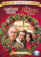 The Thanksgiving Treasure/The House Without a Christmas Tree (DVD, 2014)
