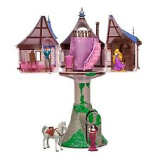 Disney Parks Tangled Princess Rapunzel Tower with Flynn Play Set Playset Maximus