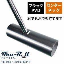 Tru Roll Golf TR-iii Center shaft Black PVD Finish Putter 34 inch Japan F/S