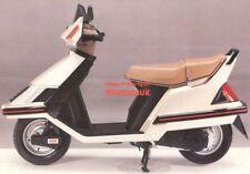 Honda CH125 Spacy (83-87) Genuine Factory Service Manual CH 125 JF02 Elite CS16