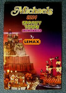 Lemax - Michaels Spooky Town 2004 Product Catalog - 44197M - Mint Condition