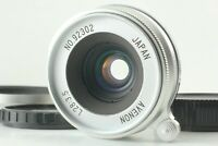 【MINT w/ Hood】 AVENON L 28mm f/3.5 Silver For L39 Leica Screw Mount From JAPAN