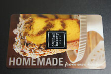 CORNER BAKERY Homemade Design Collectible Gift Card No Value No Money NEW
