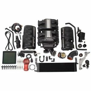 Edelbrock 1580 E-Force Stage-1 Supercharger Kit with Tune, For Mustang GT 4.6L