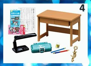 Re-Ment Miniature Petit Sample My Childhood Room School Furniture Re-ment No.04