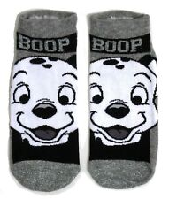 LADIES 101 DALMATIANS BOOP SHOE LINERS SOCKS UK 4-8 EUR 37-42 USA 6-10