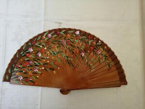 Spain Flamenco Handfächer Pocket Fan Folding Fan Wooden C