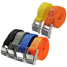 2.5M Pack Cam Tie Luggage Nylon Bag Belt Down Straps Cargo Lash Metal Buckle
