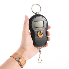 Pocket 50kg/10g LCD Digital Hanging Luggage Weight Electronic Hook Scale Balance