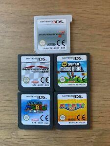 Mario Nintendo DS Games Inc Mario Kart Party 64 Bros Mario Kart 7