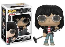 """Hey Ho Lets Go Joey Ramone 3.75"""" POP ROCKS Vinyl Figure FUNKO NEUF 55"""