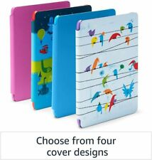 Kindle Kids Edition 8GB E-Reader - RAINBOW BIRDS (10th Generation - NEW)