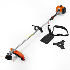 2-in-1 Straight Shaft Trimmer Gas Weed Eater Professional 26 CC Wacker Edger