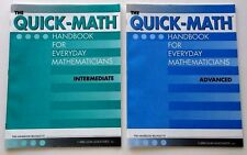 New Set! Quick-Math Reference Handbooks 3rd-5th & 6th-8th+ Grade 3 4 5 6 7 8 9+