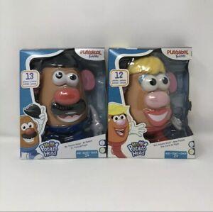 DISCONTINUED Playskool Friends! Mr. & Mrs. Potato Head Complete set NEW